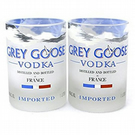 Xmas Gift Set- Recycled Grey Goose bottle Tumblers set of 2