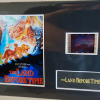 Land Before Time original rare & genuine film cell display from the movie