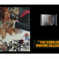 A Fearless Vampire Killers mounted film cell display very rare