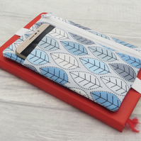 Zipped Bullet Journal Pouch with front pocket