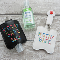 Personalised Hand Sanitiser Alcohol Gel Holder