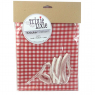 Make your own knickers Trixie Lixie knicker kit Gorgeous Gingham