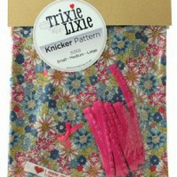 Cotton lawn knicker kit Blue