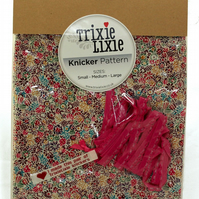 Liberty make your own knickers kit Claricoates