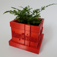 Unique Red Christmas Gift Pot