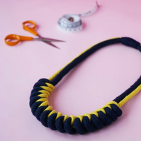 Make a rope knot necklace (online course and kit)