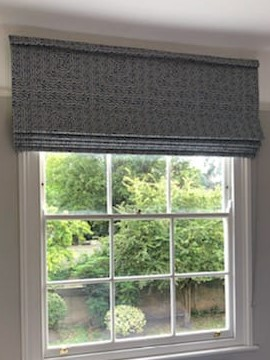 Roman Blinds Made To Measure In Customers Own F Folksy