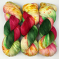 Hand Dyed Yarn: 4ply Merino Nylon - Belle. Sock Yarn, Merino Wool.