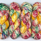 Hand Dyed Yarn: 4ply Merino Nylon - Noelle. Sock Yarn, Merino Wool