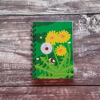 Dandelions A6 Notebook