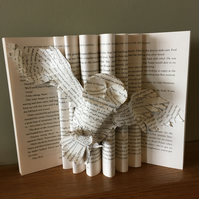 Altered book - The Philosopher's Stone (Hedwig)