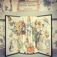 Peter Rabbit Book Sculpture