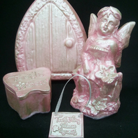 Fairy Ornament, Plaque,Fairy Door,Toothbox