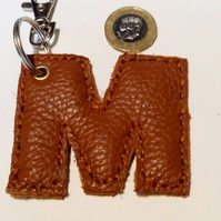 Leather M Bag Charm