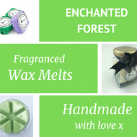Enchanted Forest Soy Wax Melt for use in wax & oil burners