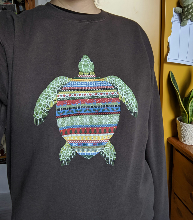 Turtle Christmas Jumper
