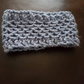 Hand Made Blue Ear Warmer or Head Band
