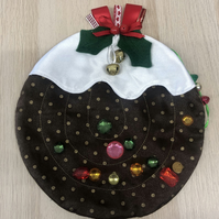 Dementia fiddle mat Christmas Pudding