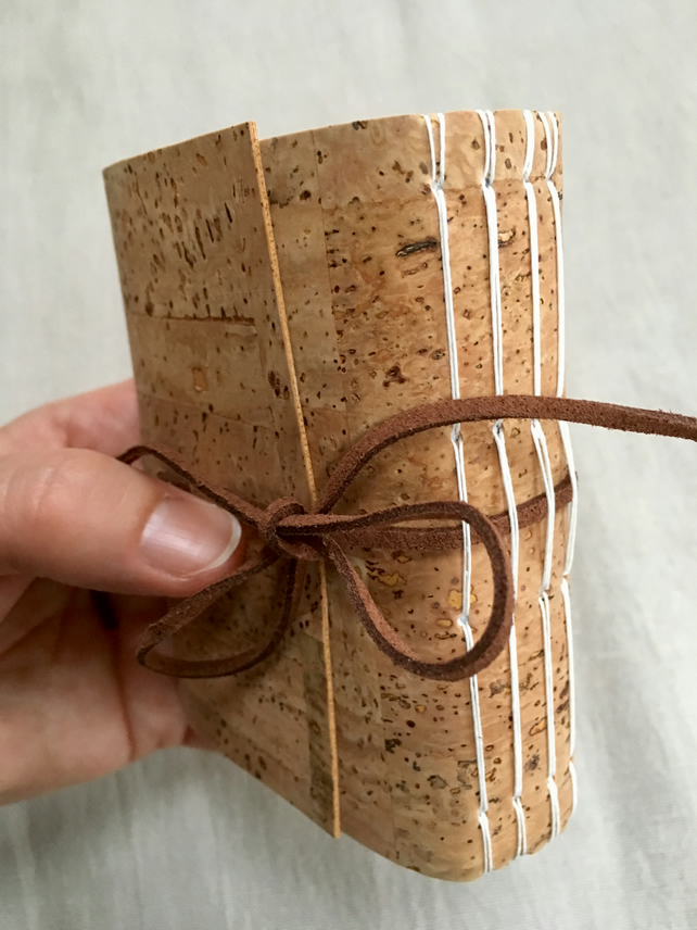 Traditionally made cork wrapped Journal