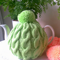 Tea Cosy - Spring Pastels Lime