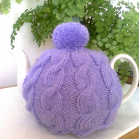 Purple Cable Tea Cosy