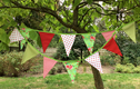 Small flag bunting