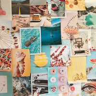 VSCO Summer Collage Kit - 50 high quality prints