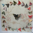 Butterfly Wreath Canvas