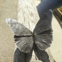 Butterfly, Hand forged Blacksmith Made Fine Steel Butterfly