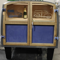 Morris Minor Traveller Car Door Drinks Cabinet - Handmade furniture