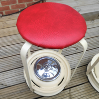 Morris Minor Wheel Bar Stool - Car parts furniture