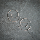 Geometric Sterling Silver Threader Earrings