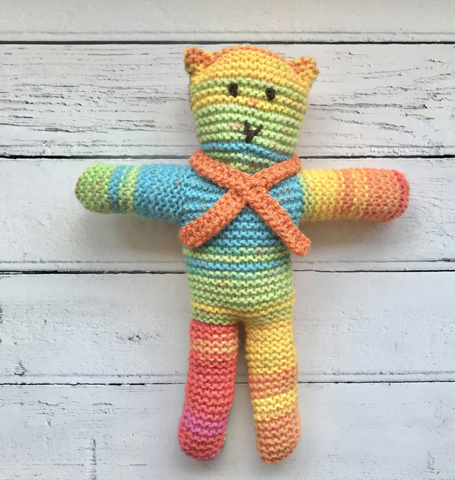 BEAR Scarf Crochet - Cool Creativities | 676x642