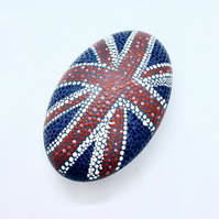 Union Jack Dotted Stone
