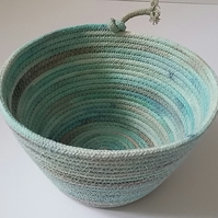 Hand dyed Rope Bowl