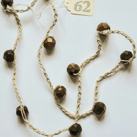 Robles Wood Necklace