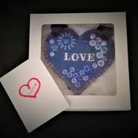 Greeting Heart – for that special occasion or just because . . .