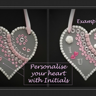 Personalised Valentines Greeting Heart – for that special someone