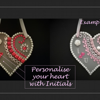 Personalised Greeting Heart – for that special someone