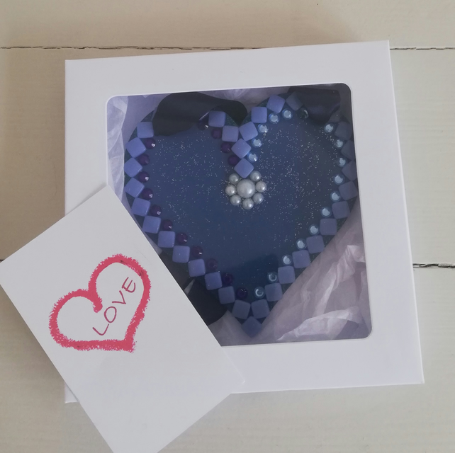Greeting Heart (12cm) – for that special occasion or just because . . .