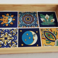Mexican Mosaic Tray