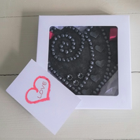 Greeting Heart (15cm) – for that special occasion or just because . . .