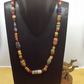 Necklace of African recycled glass beads