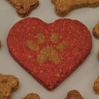 Valentines Heart Dog Treat