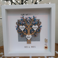 Wedding gift, family tree, wedding family tree, wedding decoration, Anniversary