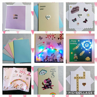 Birthday cards, occasion cards, special cards, anniversary cards.