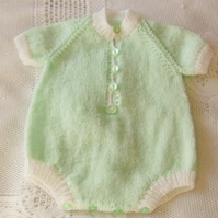 Babys Short Sleeved Romper Suit For a Boy or Girl, Gift Ideas for Baby