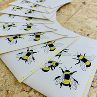 """Seeds for the bees"" wildflower seed packets x 1"