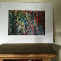 Limited edition mounted fine art print An Enchanted Place