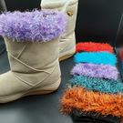 Faux Fur Boot Toppers and Jumper Cuffs from